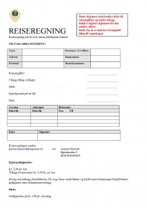 Reiseregning