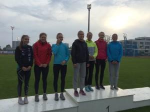 4x100 m kvinner